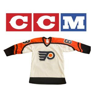 Vintage CCM Lindros Flyers Jersey - Youth Large